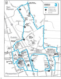Wheels route 3 map
