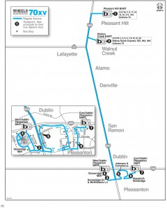 Wheels route 70xv map