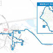 611 Route Map