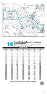 Route 14 Schedule