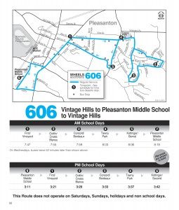 Route 606 Schedule