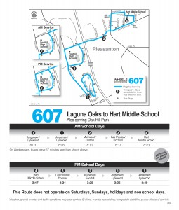 Route 607 Schedule