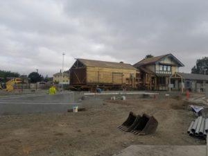 New Depot Under Construction