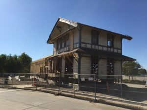 New depot construction