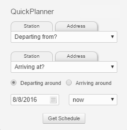 Quick Trip Planner Image