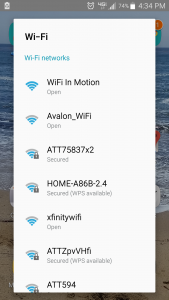 Mobile Wifi Selector Image