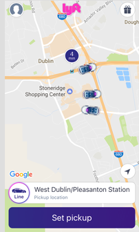 lyft screenshot