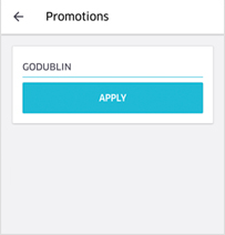 Promotions Go Dublin Button