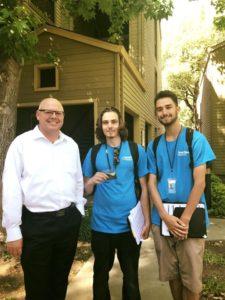 Michael Tree with SmartTrips Pleasanton Crew