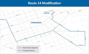Route 14 Modification