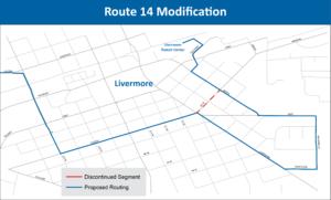 Route 14Modification
