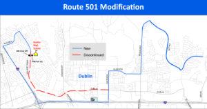 Route 501 Modification