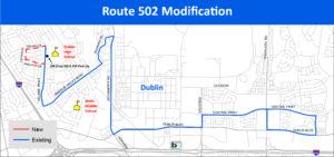 Route 502 Modification