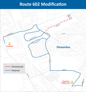 Route 602 Mdification