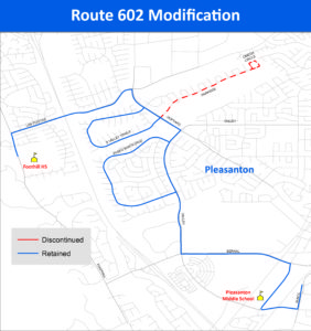 Route 602 Modification