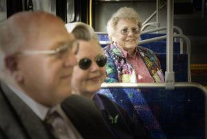 folks on the bus