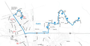 Route 501 Map
