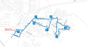 Route 606 Map