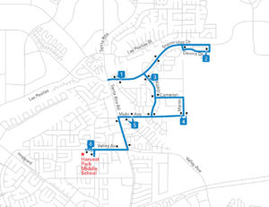 Route 608 Map